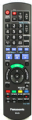 PANASONIC DVD RECORDER / VCR REMOTE CONTROL FOR DMR-EZ49VEB / DMR-EZ49